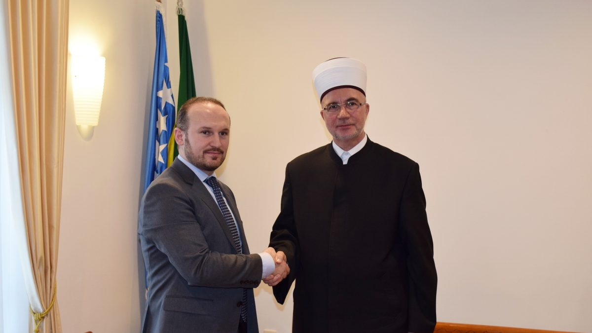 Muftija Fazlović primio delegaciju i predsjednika Islamske zajednice Austrije
