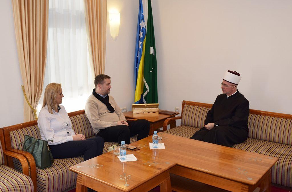Nastavlja se dobra saradnja Muftijstva tuzlanskog i HO Merhamet MDD