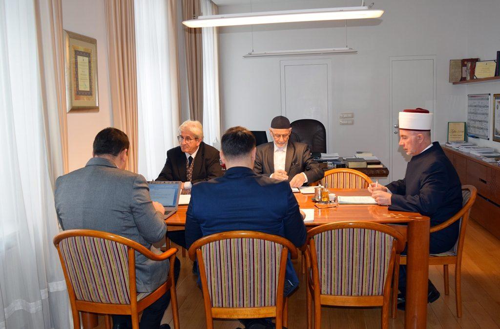 Sjednica Muftijstva tuzlanskog: Nastavak opremanja kabineta Islamske vjeronauke i uspostavljanje Škola Kur'ana