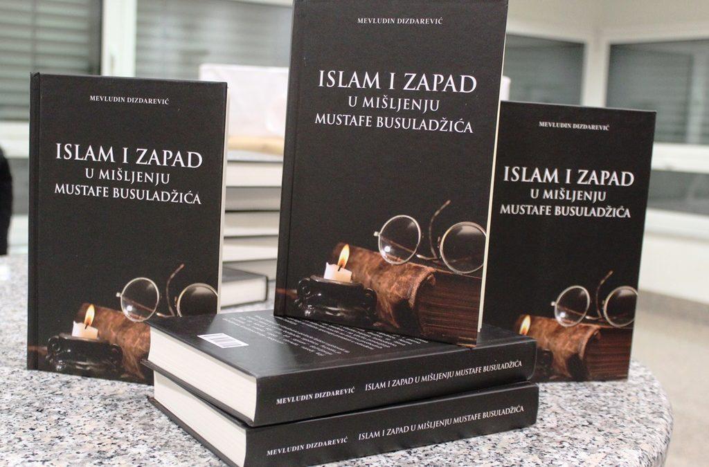 """Promovirana knjiga """"Islam i Zapad u mišljenju Mustafe Busuladžića"""""""