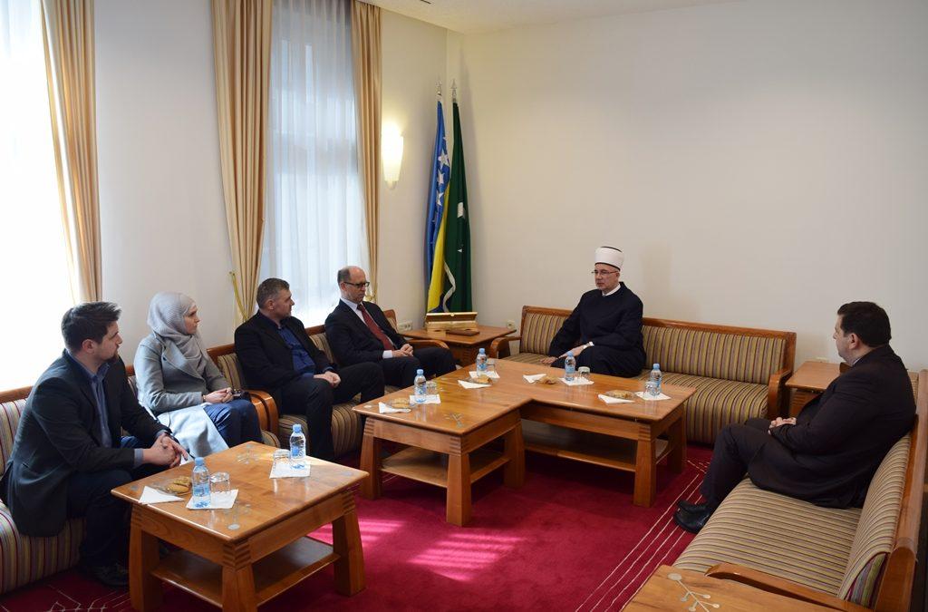 Muftija tuzlanski primio direktora Instituta za islamsku tradiciju Bošnjaka