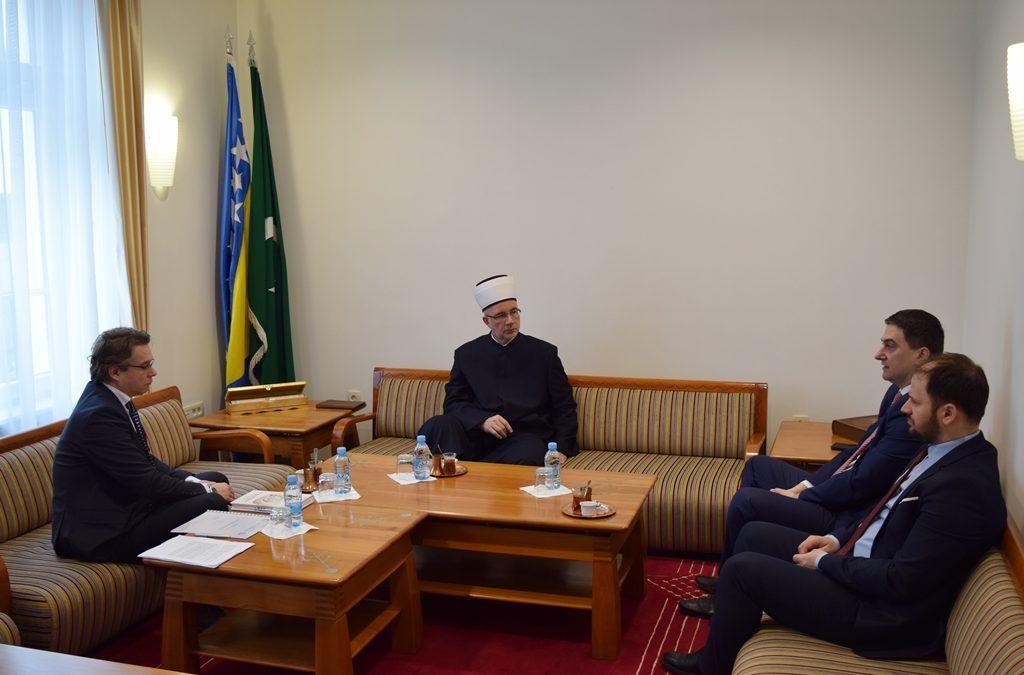 Muftija primio predstavnike Agencije za certificiranje halal kvalitete