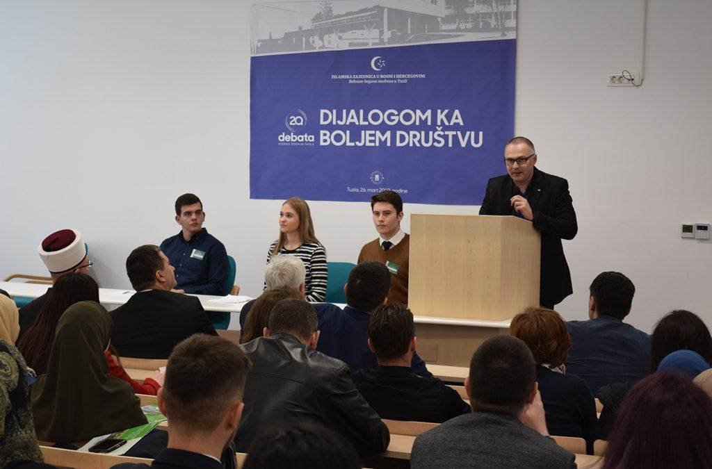 U Behram-begovoj medresi održana dvadeseta debata učenika srednjih škola
