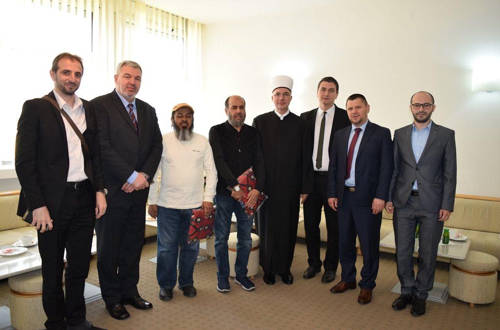 Muftija Fazlović primio delegaciju Ministarstva vakufa i Generalne direkcije vakufa države Katar