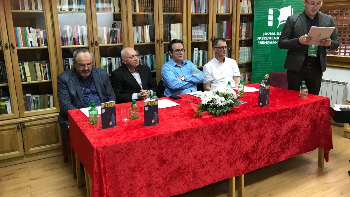 Promocija knjige Intervju Sevreta Mehmedćehajića