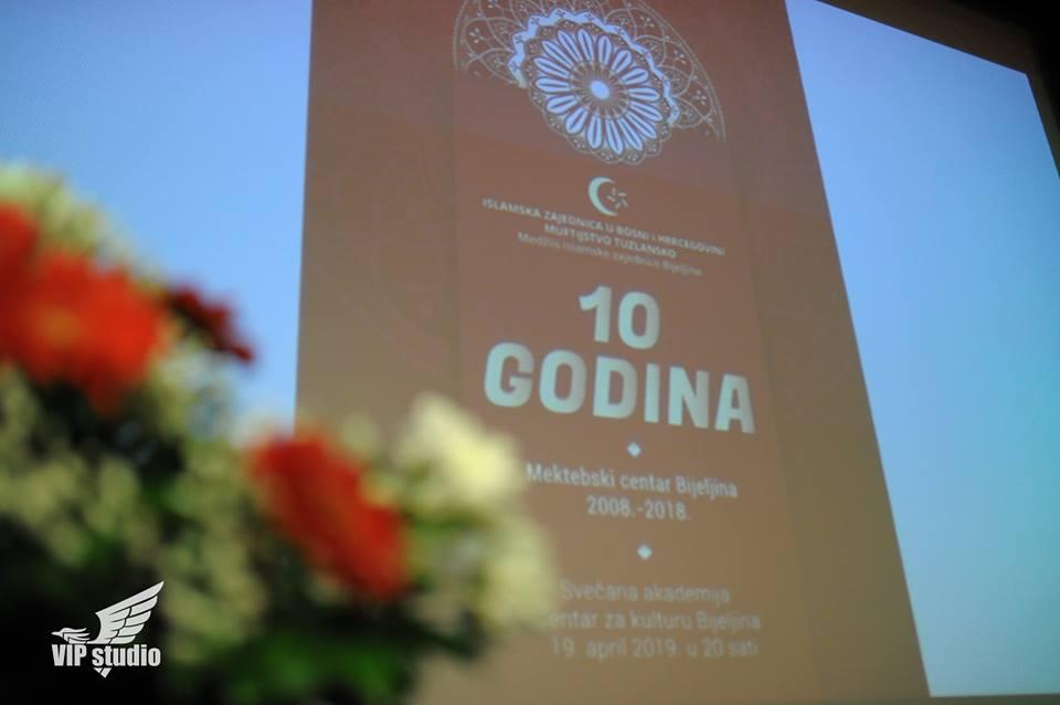Svečana akademija povodom 10 godina postojanja Mektebskog centra u Bijeljini