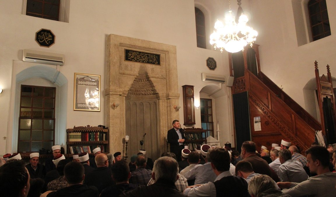 Program o Miradžu u tuzlanskoj Čaršijskoj džamiji