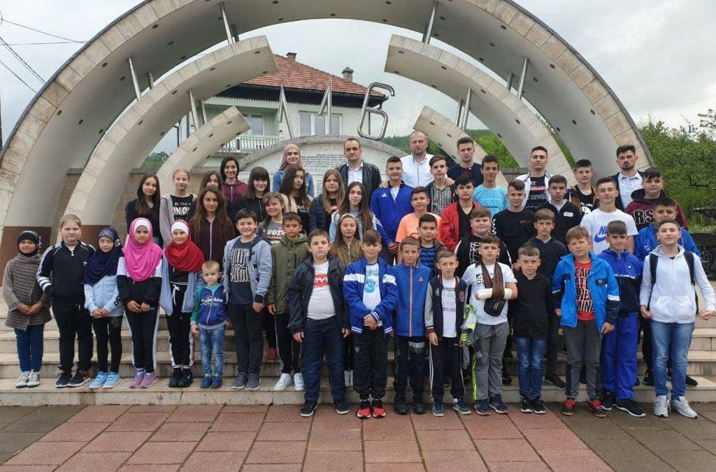 Mektebska ekskurzija u Ahmiće, Jajce, Travnik i Sarajevo