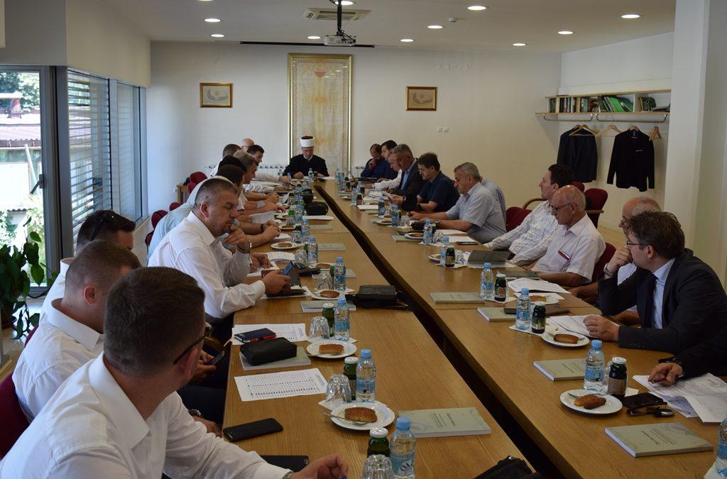 Održane sjednice Muftijstva tuzlanskog i Savjeta za vjerska pitanja