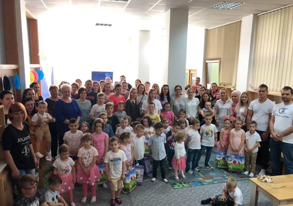 Radost bajrama u Mektebu za predškolski uzrast u Odžaku