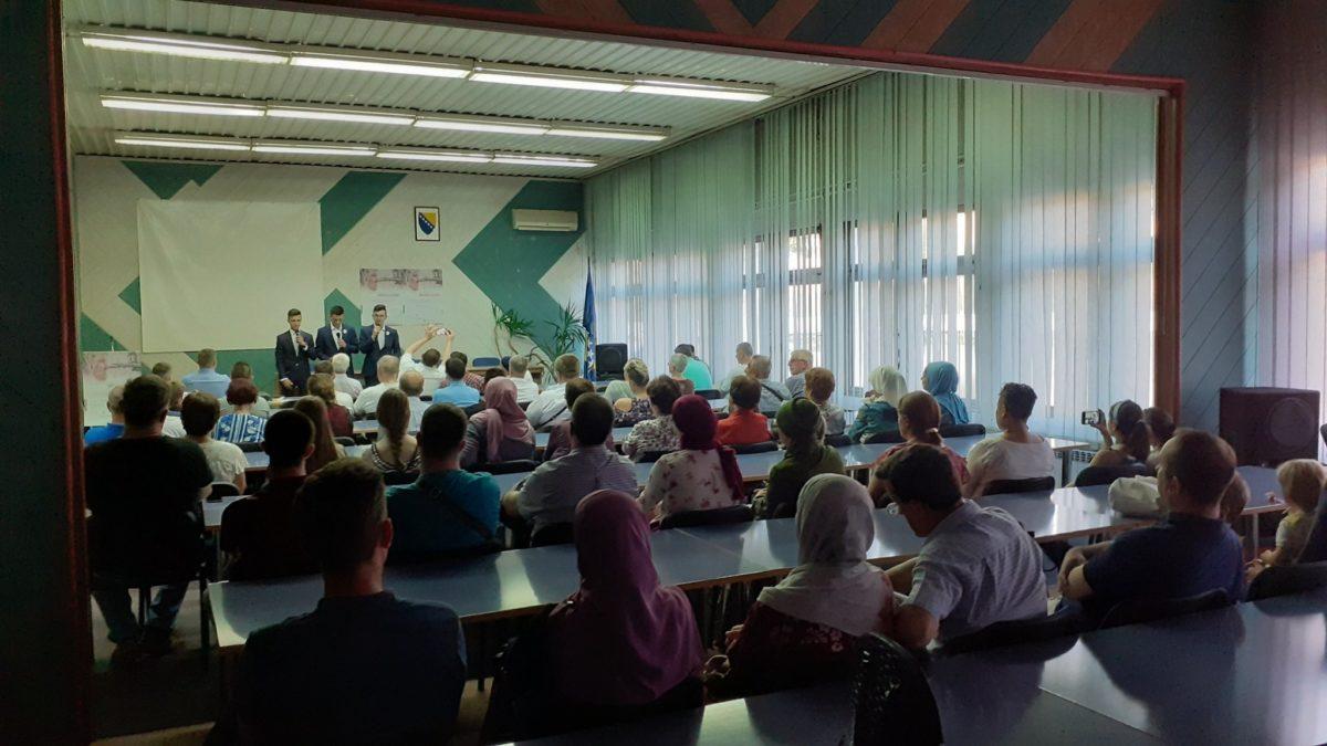 Film o nani Fati Orlović predstavljen i u Gradačcu i Gračanici