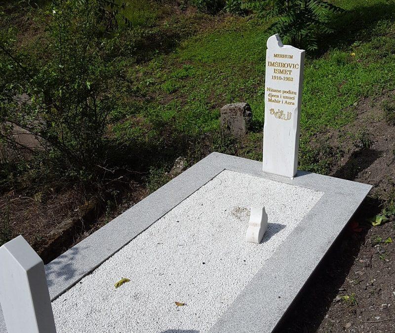 Zvornik: Uništeno nekoliko nišana u mezarju Kazanbašča
