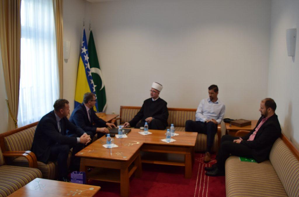 Muftija Fazlović primio zamjenika načelnika i predsjednika Skupštine opštine Srebrenica