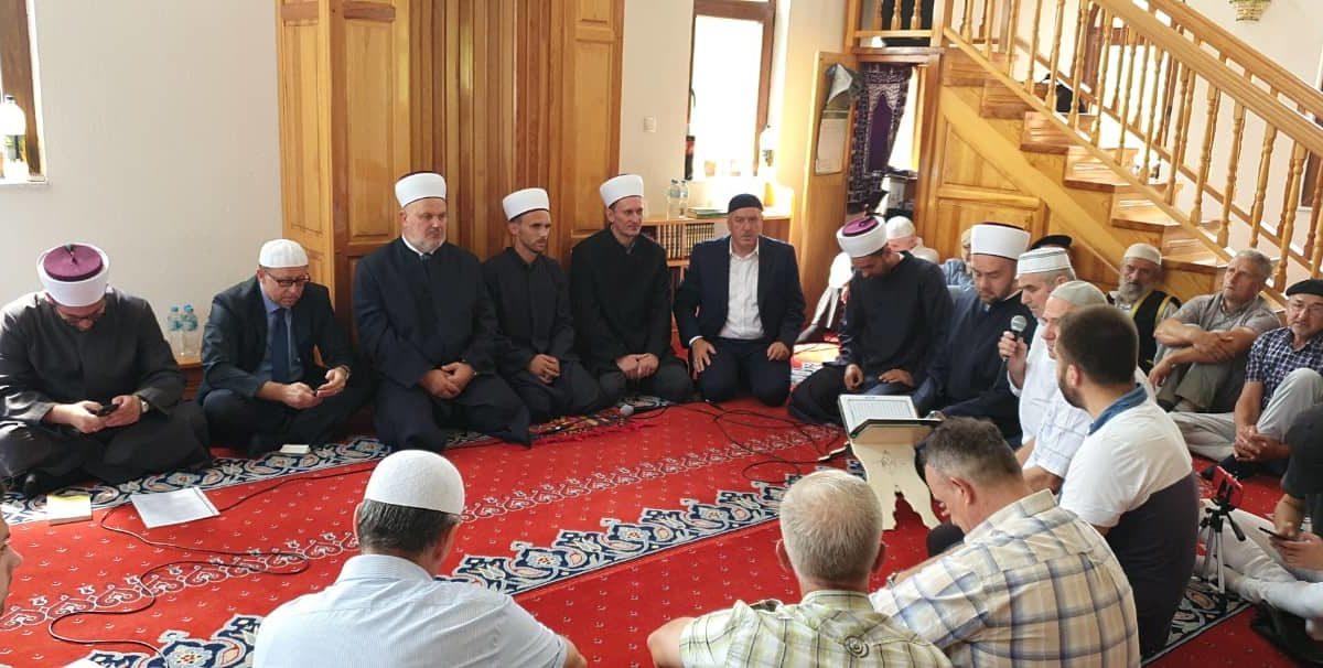 Mevlud povodom četvrte godišnjice od otvorenja džamije u Cerskoj