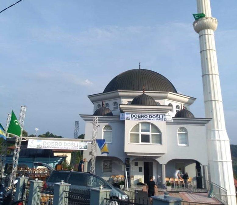 Otvorena džamija u Ahmićima (MIZ Srebrenik)