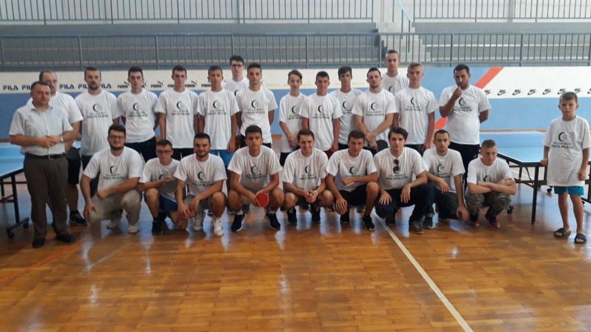 Srebrenik: Bajramski turnir u stonom tenisu za mlade