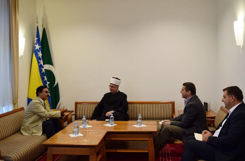 Ambasador Kraljevine Saudijske Arabije posjetio muftiju Fazlovića