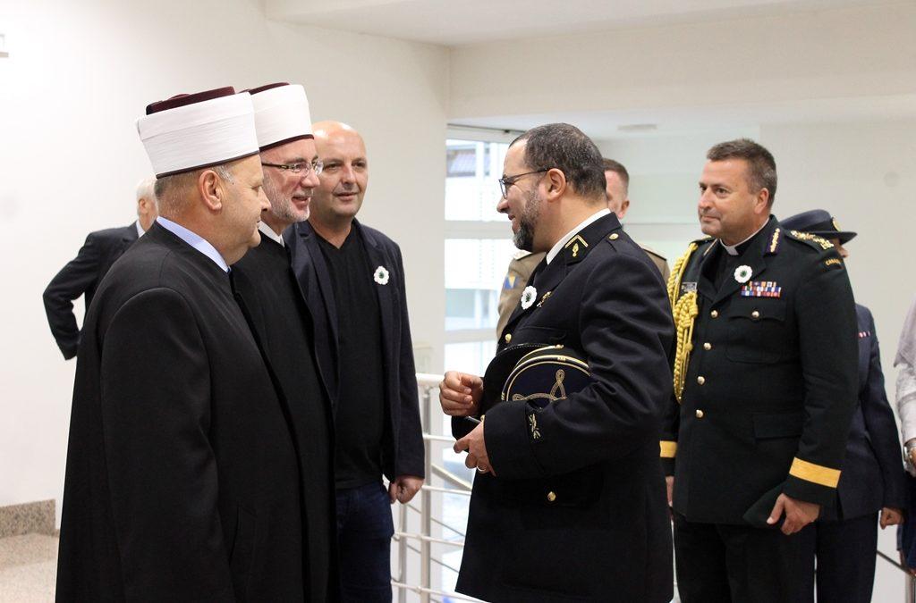 Učesnici Treće međunarodne konferencije vojnih imama posjetili Muftijstvo tuzlansko
