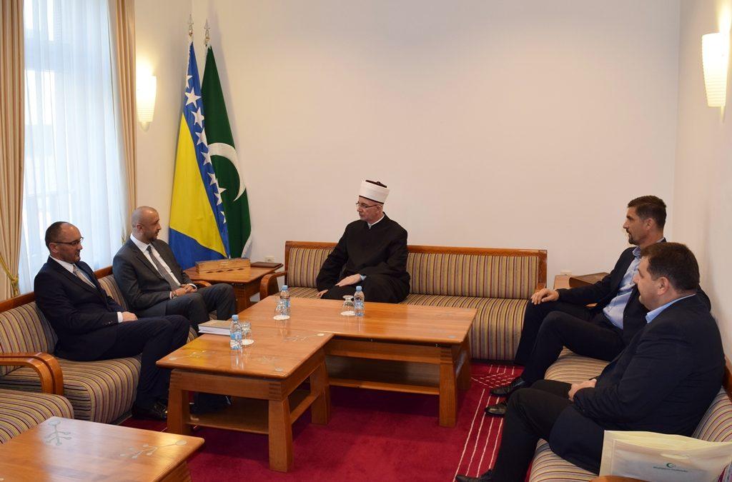 Muftija Fazlović primio predsjednika Udruženja ilmijje