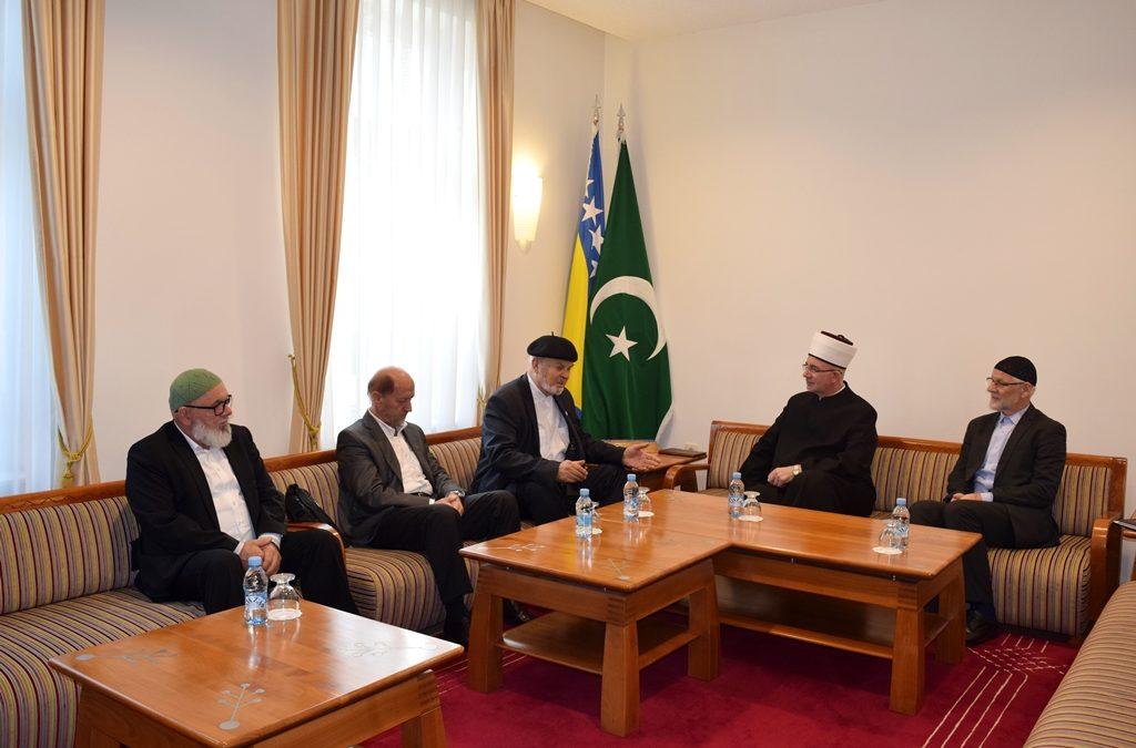 Muftija tuzlanski primio predsjednika Tarikatskog centra