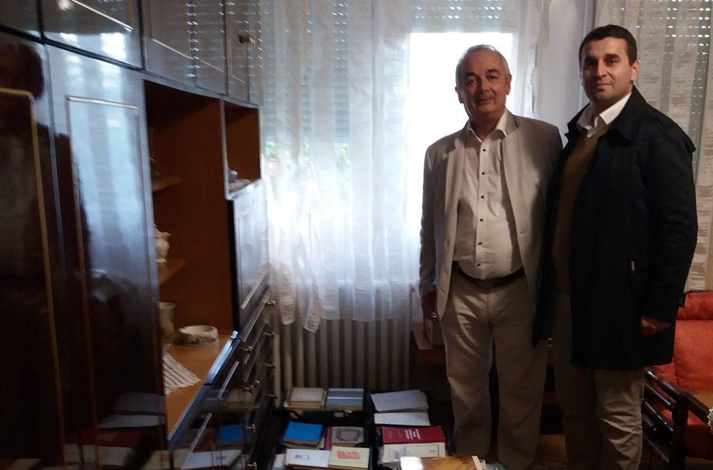 """U Biblioteci """"Behram-beg"""" knjige rahmetli dr. Ismeta Smailovića"""
