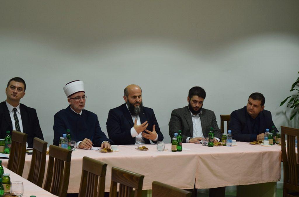 Dr. Muamer-ef. Zukorlić predstavio svoj program članovima izbornog tijela s područja Muftiluka tuzlanskog