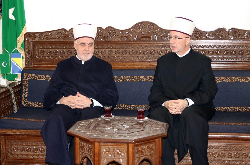 Posjeta reisul-ulemi Husein-ef. Kavazoviću