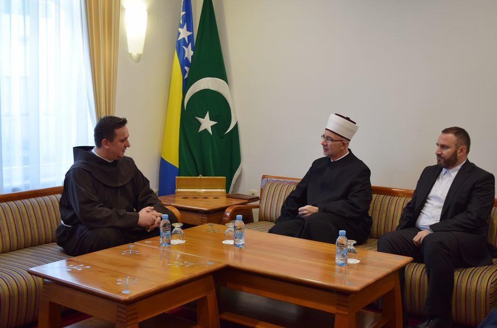 Muftija tuzlanski  primio gvardijana Franjevačkog samostana i sveštenike Srpske pravoslavne crkve u Tuzli