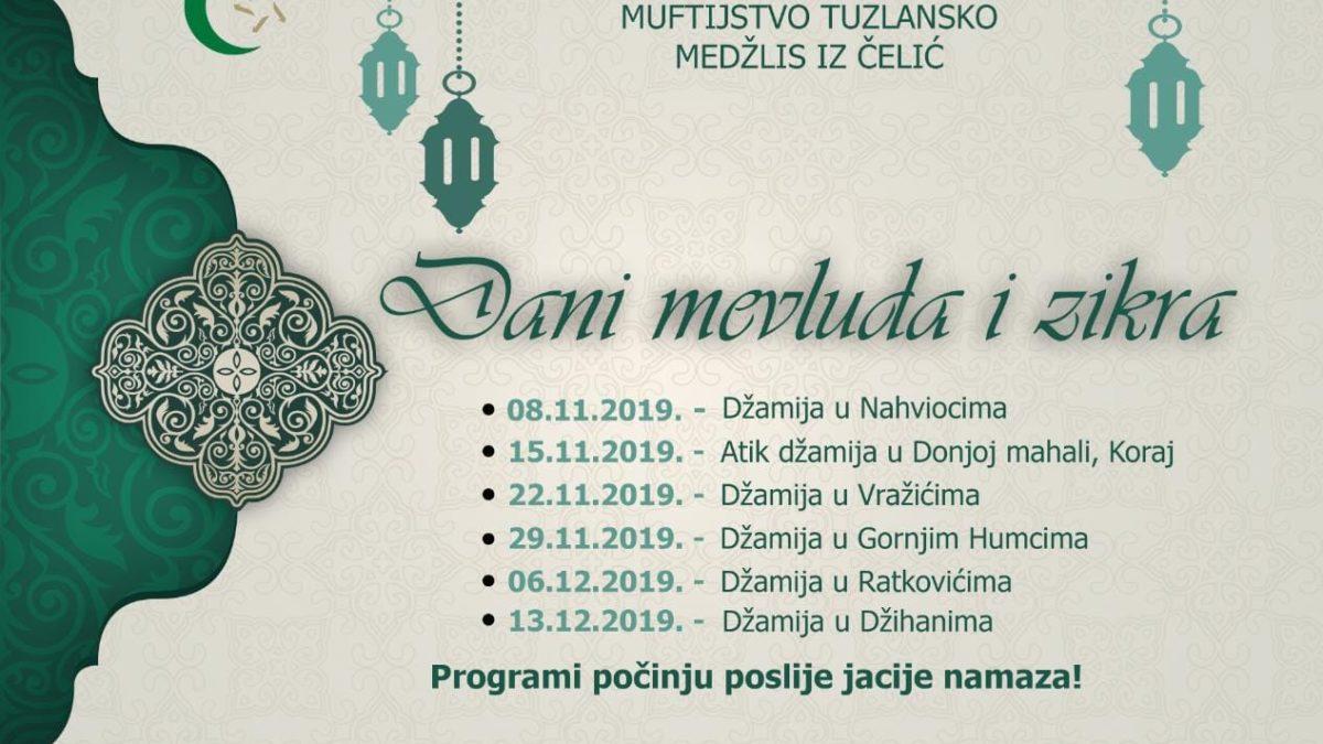 Dani mevluda i zikra u Čeliću