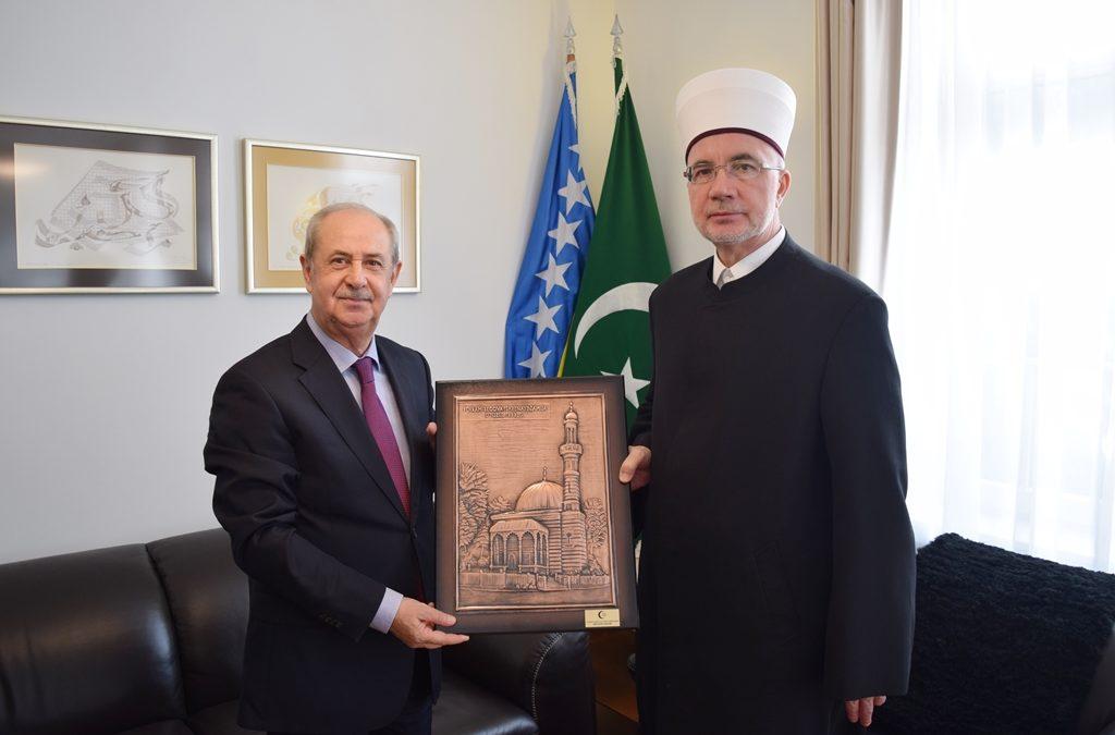 Hasan Atli u oproštajnoj posjeti muftiji Fazloviću