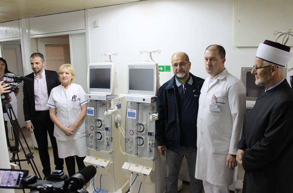 Uručena dva aparata za hemodijalizu Univerzitetskom kliničkom centru Tuzla