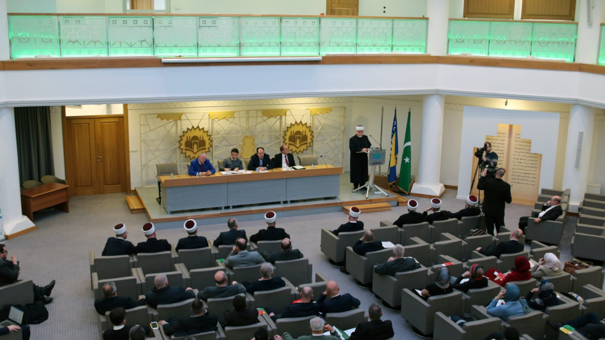 Održana sjednica Sabora Islamske zajednice u Bosni i Hercegovini