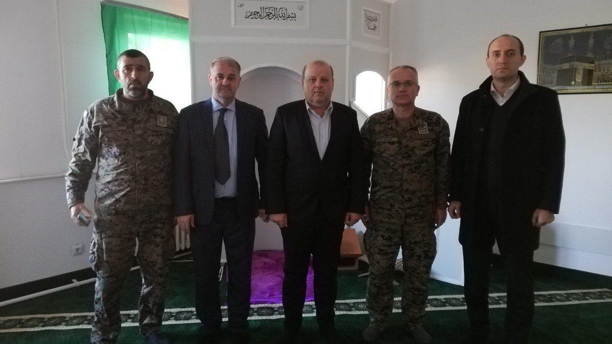 CROPS posjetio vojni muftija Hadis-ef. Pašalić