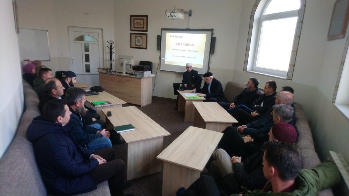 Seminar za imame i vjeroučitelje u Banovićima