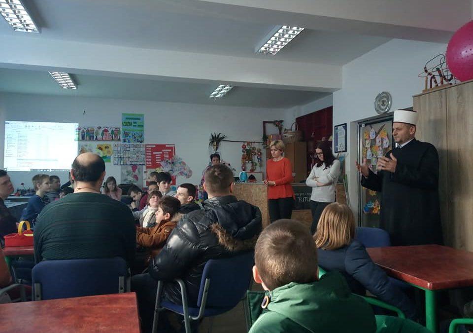 Posjeta Udruženju roditelja, djece i omladine sa posebnim potrebama Futura u Gračanici