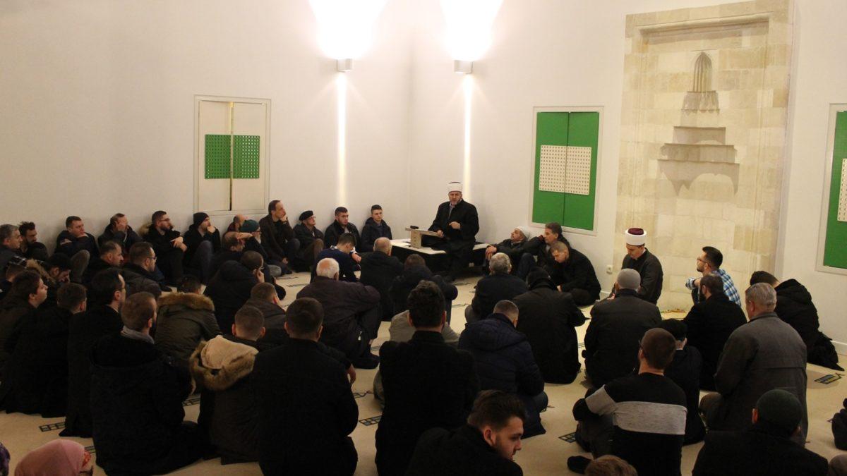 Hafiz Mirnes-ef. Spahić održao predavanje u Gazi Turali-begovoj džamiji