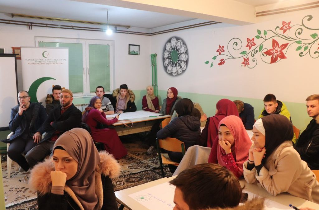 """Živinice: Održana druga radionica za mlade """"Islamski edeb – ahlak"""""""