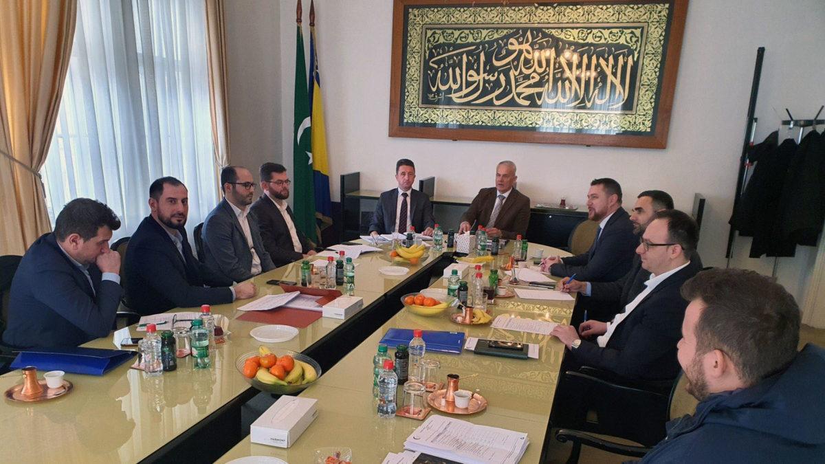 Radni sastanak s koordinatorima Mreže mladih muftijstava i mešihata