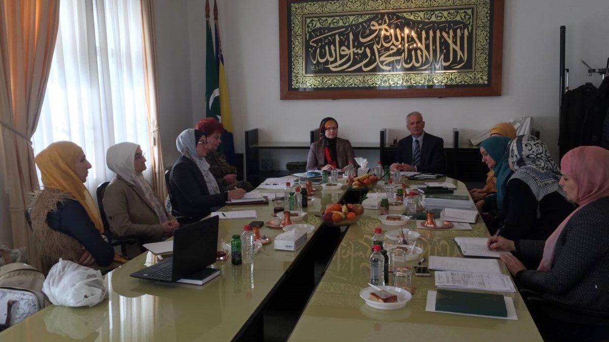 Radni sastanak sa koordinatoricama za brak i porodicu na nivou muftijstava