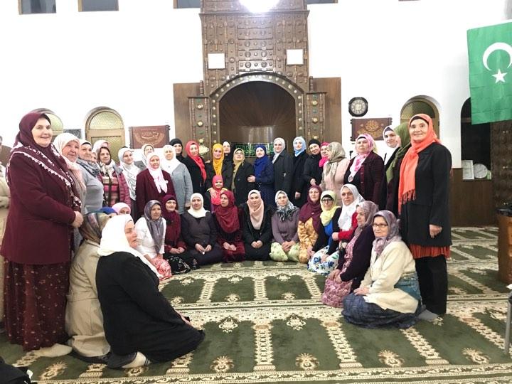 Predavanje za žene i promocija knjige u džematu Lisovići (MIZ Srebrenik)