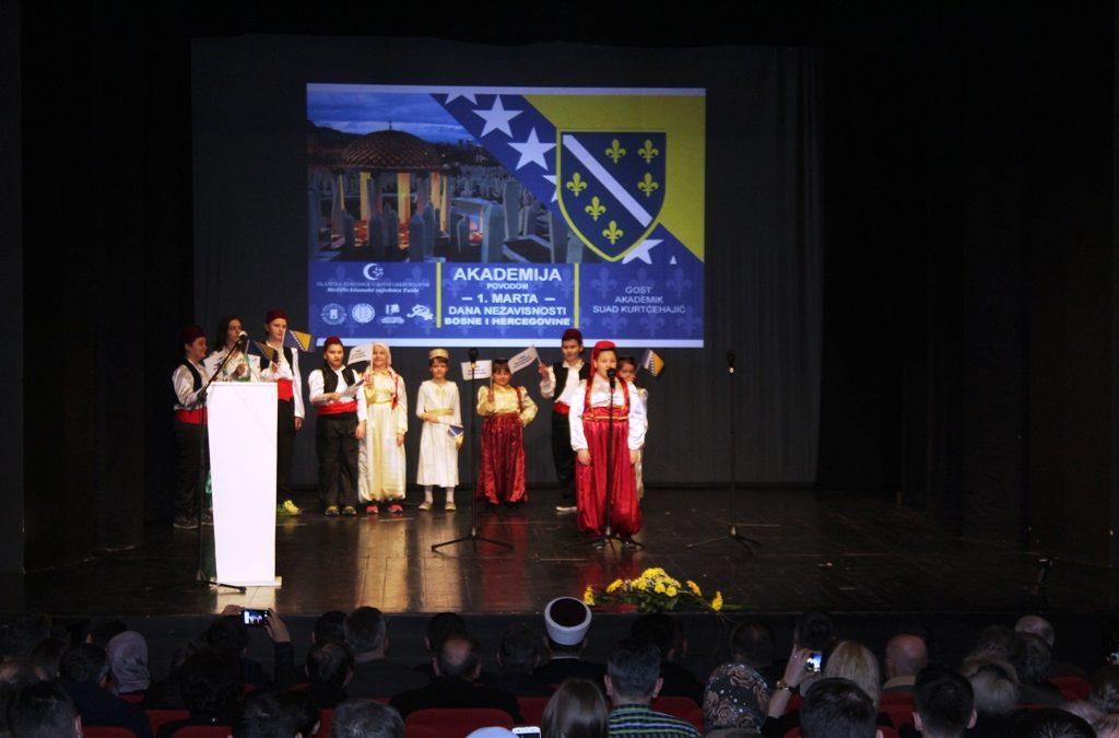 Akademija povodom 1. marta – Put Bosne i Hercegovine u nezavisnost