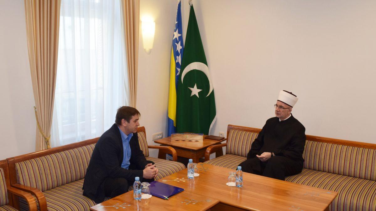 Muftija tuzlanski primio predsjednika Saveza demobilisanih boraca TK