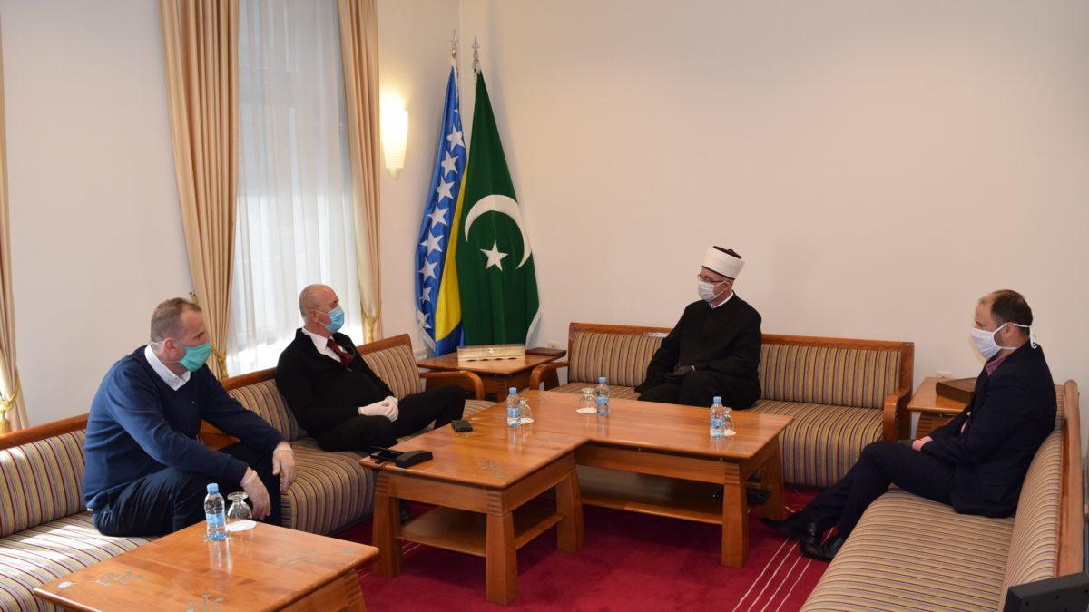 Muftija tuzlanski primio direktora UKC Tuzla