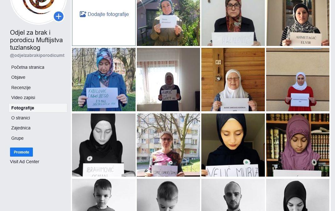 Podrška majkama Srebrenice