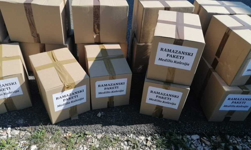 Kalesija: Realizovana akcija podjele ramazanskih paketa