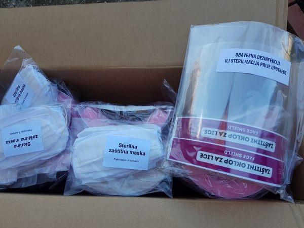 Donirano 200 zaštitnih medicinskih vizira