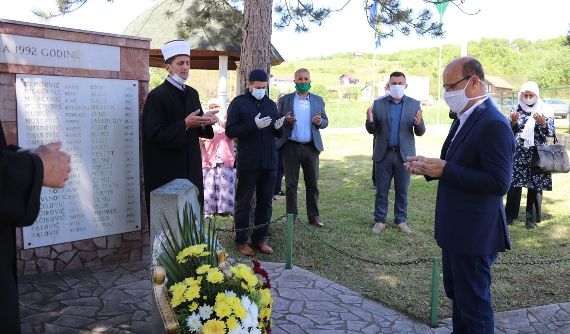 Obilježena godišnjica zločina u naselju Glogova kod Bratunca