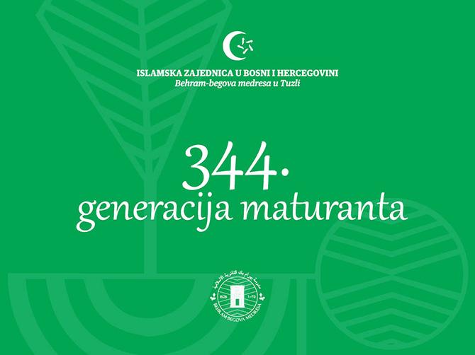 Maturanati 344. generacije Behram-begove medrese