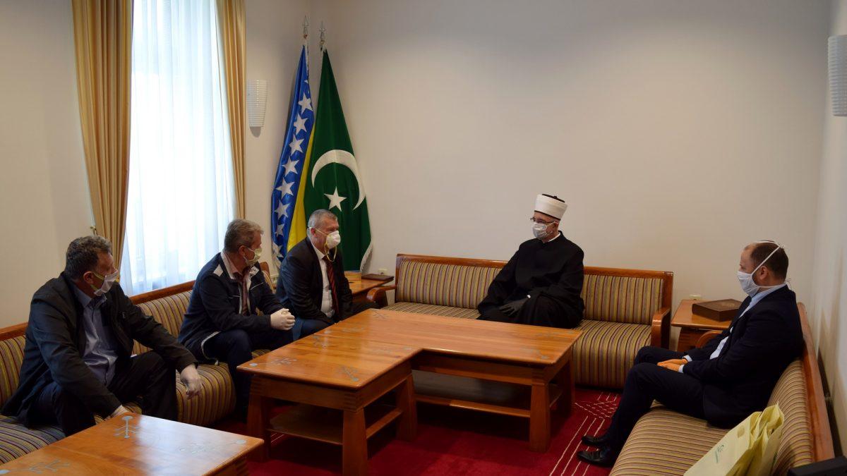 Muftija tuzlanski primio predsjednika Saveza ratnih vojnih invalida Tuzlanskog kantona