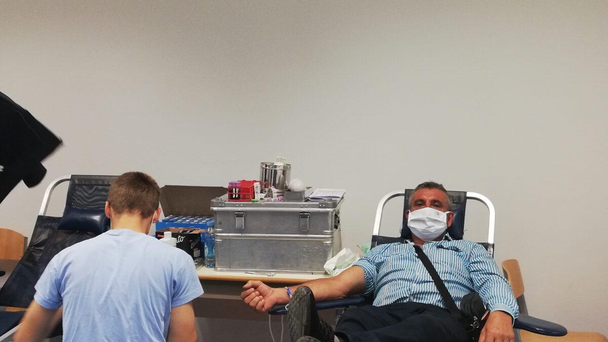 Tuzla: Akcija darivanja krvi